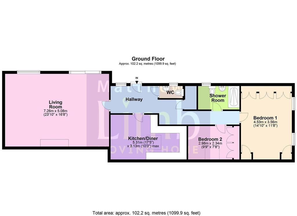 Floorplan: 2 Grange Park Mews.JPG