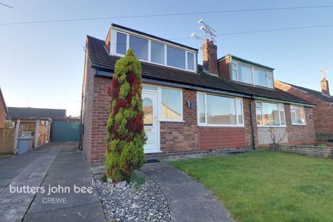 3 bedroom bungalow for sale - Linden Drive, Crewe