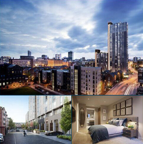 2 bedroom apartment for sale - Plot Oxygen Towers at Aspen Woolf, 49 Store Street, Store Street M1