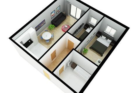 2 bedroom apartment for sale - Burlington Street, Liverpool L3