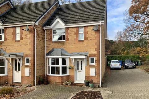 2 bedroom end of terrace house for sale - Edwina Drive, Poole, BH17 7JG