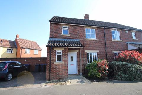 3 bedroom semi-detached house to rent - Shepherds Drove, West Ashton, Wiltshire, BA14
