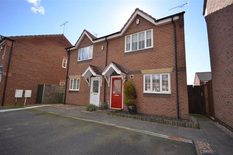 2 bedroom semi-detached house to rent - Darwin Close, Stone