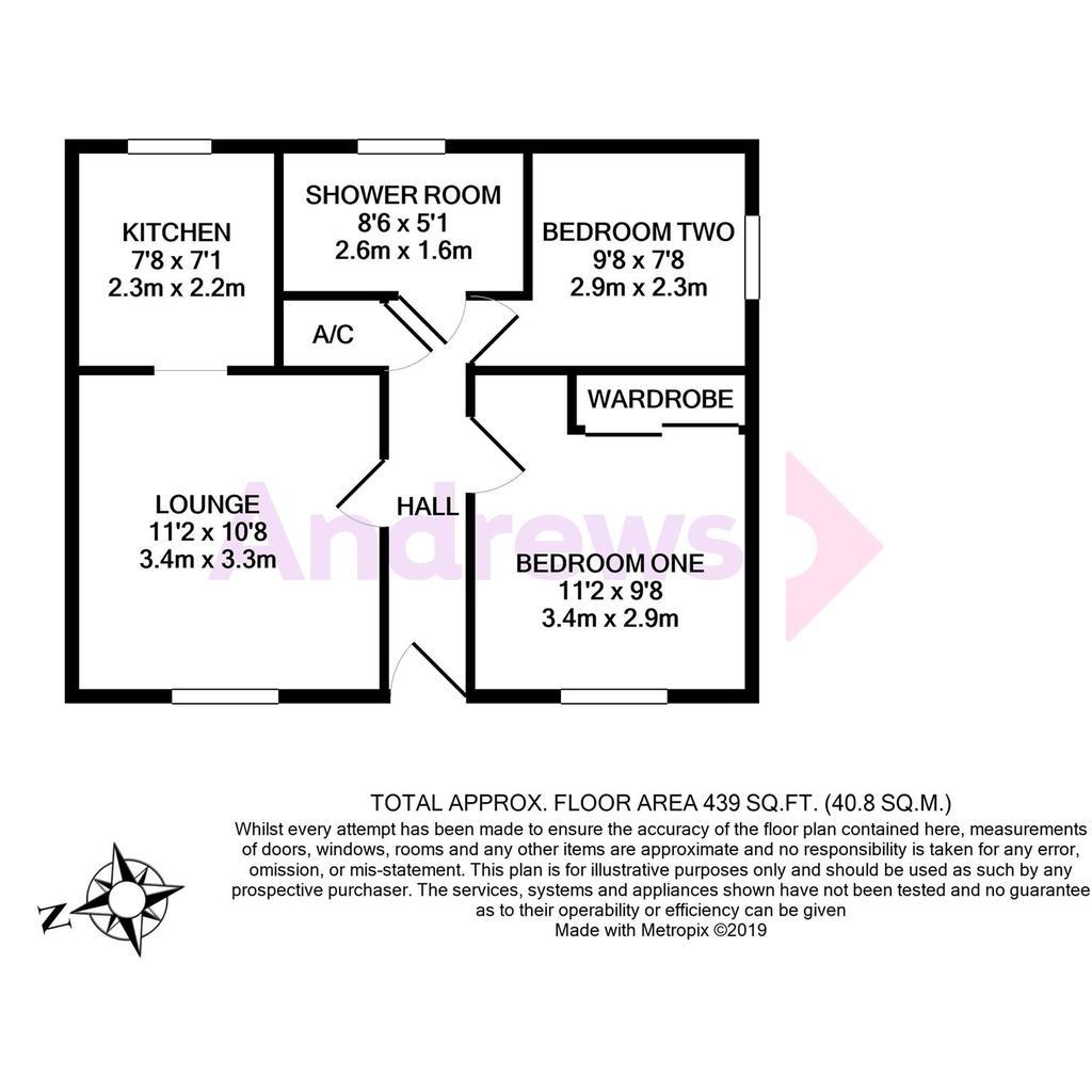 Floorplan: 26 Stanley Court