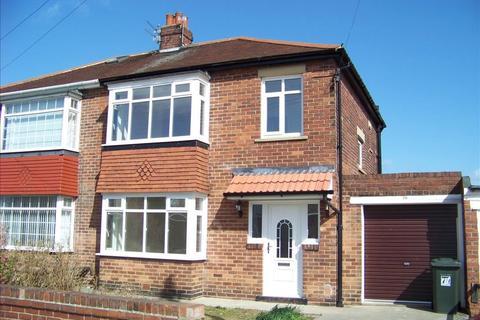3 bedroom semi-detached house to rent - Glanton Road, North Shields, Tyne and Wear, NE29 8LQ