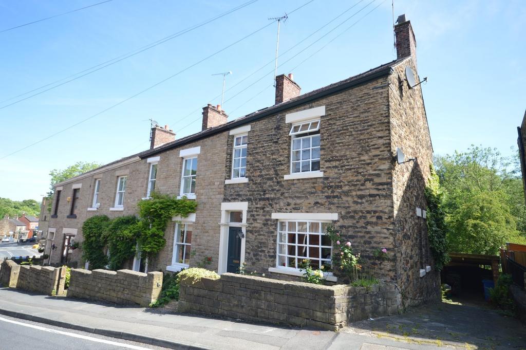 3 Bedrooms End Of Terrace House for sale in Longhurst Lane, Marple Bridge, Stockport