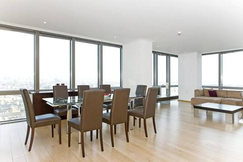 1 bedroom apartment to rent - One West India Quay, Hertsmere Road, Canary Wharf, London, E14