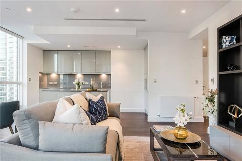 1 bedroom apartment to rent - Ostro Tower, 31 Harbour Way, E14