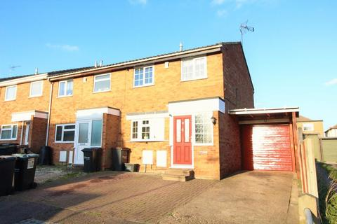 3 bedroom end of terrace house to rent - A short stroll to Leagrave Station, Selina Close