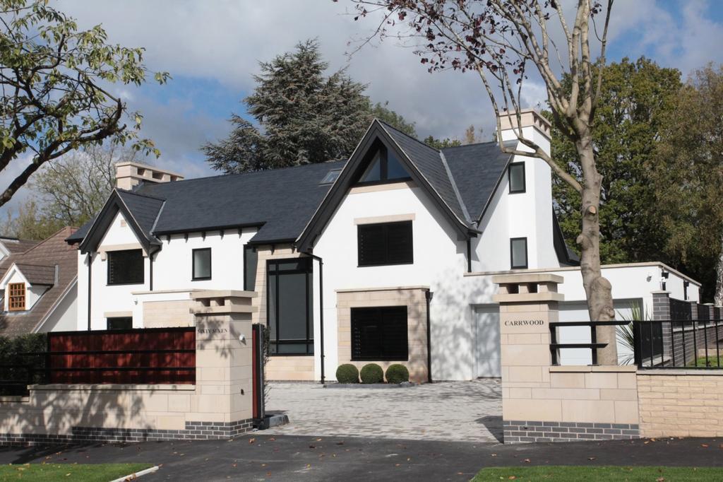 6 Bedrooms Detached House for sale in Carrwood, Hale Barns
