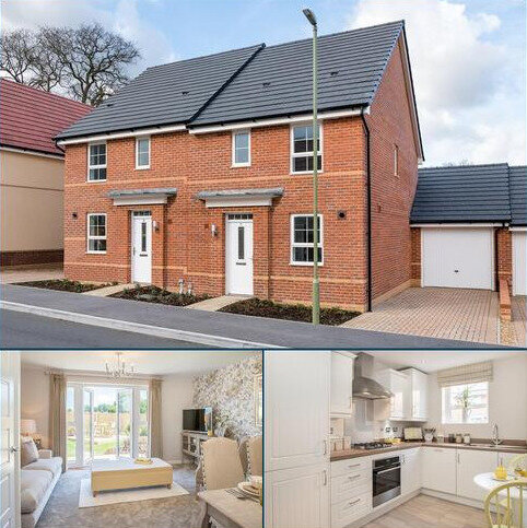 3 bedroom semi-detached house for sale - Plot 125, Barwick at Kings Chase, Jermyns Lane, Romsey, ROMSEY SO51