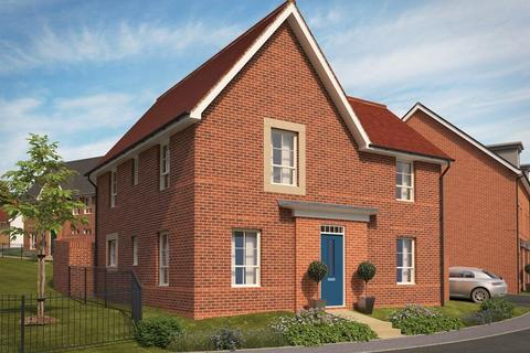 Barratt Homes - Pinn Brook - Plot 70 - The Ashenford at Riverside Walk, Wear Barton Road EX2