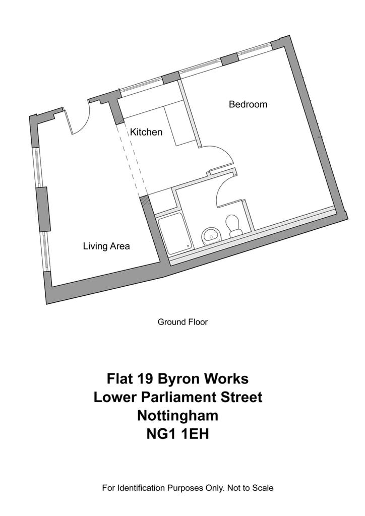 Floorplan: For Identification Purposes Only
