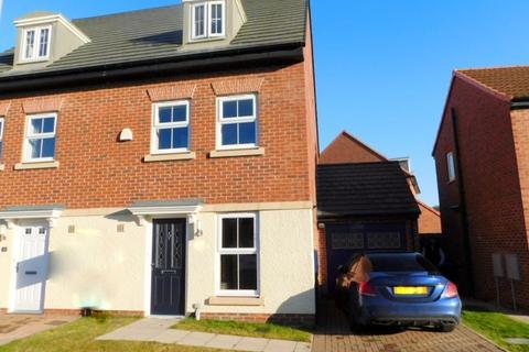 3 bedroom semi-detached house for sale - SANDGATE, COXHOE, DURHAM CITY : VILLAGES EAST OF