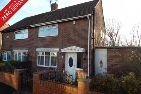 2 bedroom semi-detached house to rent - Palmerston Road, Pennywell