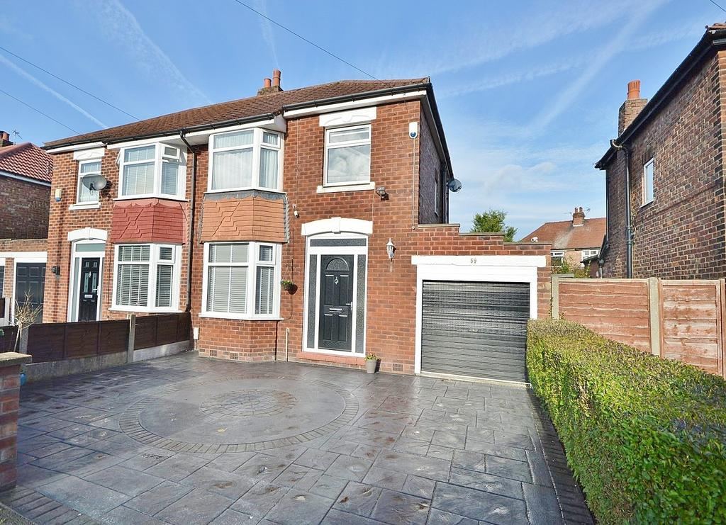 3 Bedrooms Semi Detached House for sale in Boundary Road, Cheadle