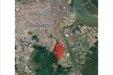 Land - Chak Angre, Meanchey, Phnom Penh, KHSL023, Cambodia