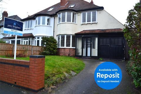 4 bedroom house to rent - Wentworth Road, Harborne, Birmingham, B17