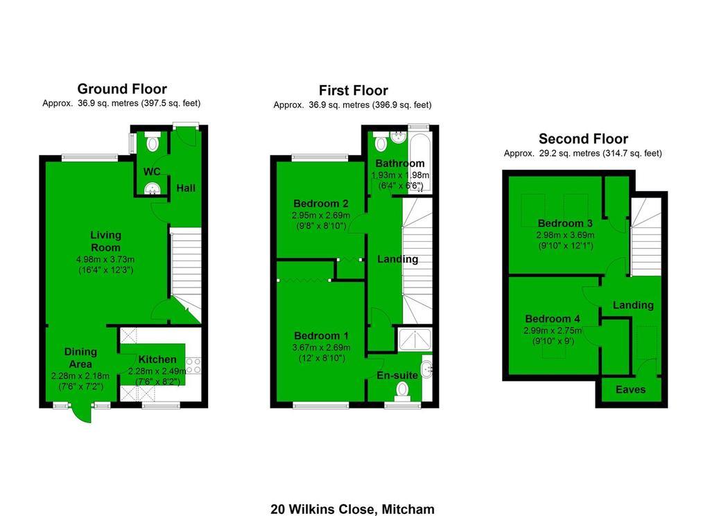 Floorplan: 20 Wilkins Close, Mitcham.JPG