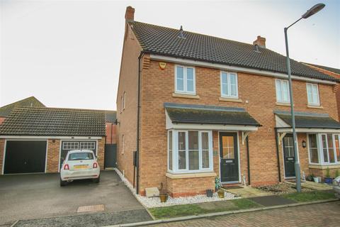 3 bedroom semi-detached house for sale - Fletton End, Calvert, Buckingham