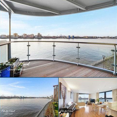 2 bedroom apartment for sale - Ocean Wharf, E14