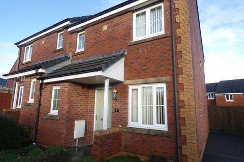 3 bedroom semi-detached house to rent - Heol Blandy, Broadlands, Bridgend County Borough, CF31 5FN
