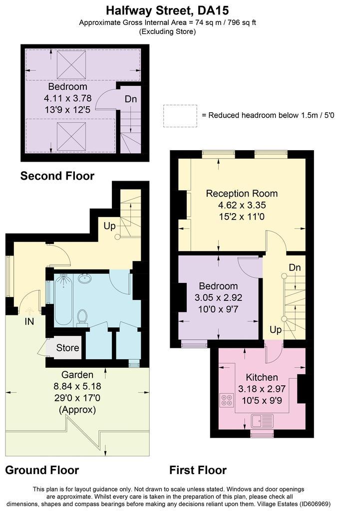 Floorplan: Halfway street...