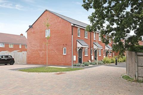 2 bedroom end of terrace house for sale - Sapphire Close, Locks Heath