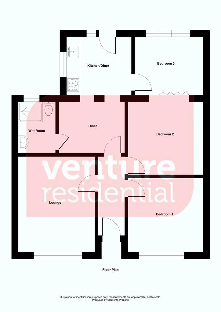 Floorplan: Montague Avenue