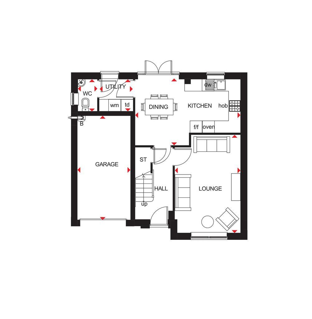 Floorplan 1 of 2: Floor Plan G