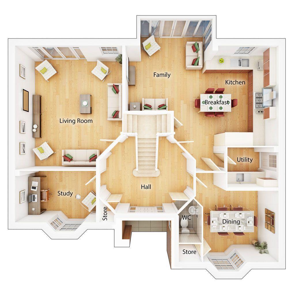 Floorplan 1 of 2: Ground