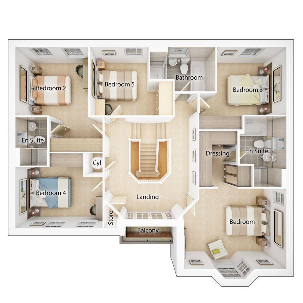 Floorplan 2 of 2: First