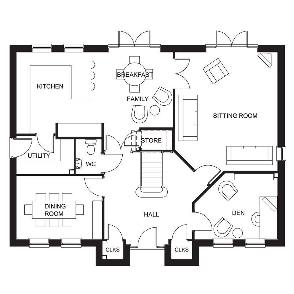 Floorplan 1 of 2: The Glidewell