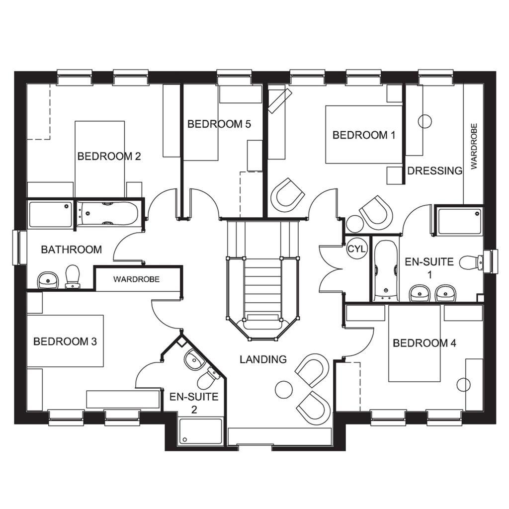 Floorplan 2 of 2: The Glidewell