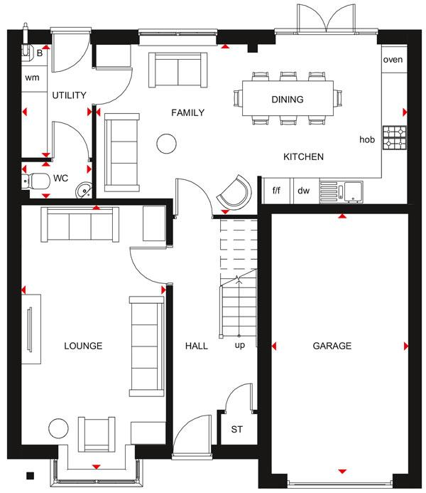 Floorplan 1 of 2: Hertford GF