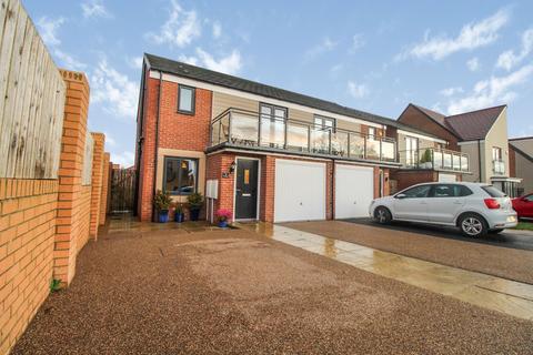 3 bedroom semi-detached house for sale - Elmwood Park Grove, Gosforth, Newcastle upon Tyne, Tyne and Wear, NE13 9DQ