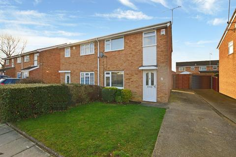 3 bedroom semi-detached house for sale - Ventnor Gardens, Bramingham, Luton, Bedfordshire, LU3 3SN