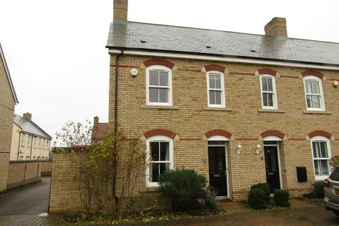 3 bedroom end of terrace house to rent - Charlotte Avenue, Fairfield, Hitchin, SG5