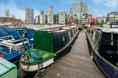 1 bedroom houseboat for sale - Boardwalk Place, Poplar Dock Marina, E14