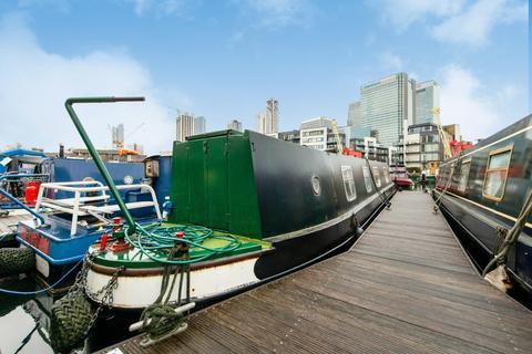 1 bedroom houseboat for sale - Poplar Dock Marina, Docklands E14