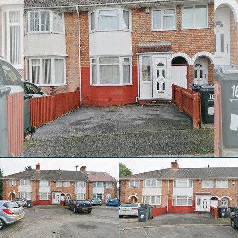 3 bedroom terraced house for sale - Severne Grove, Acocks Green, BIRMINGHAM B27