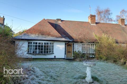 2 bedroom bungalow for sale - Sutton Passeys Crescent, Nottingham