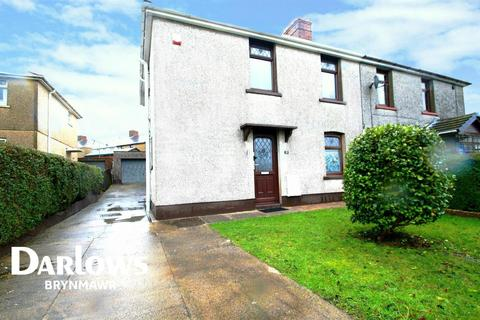 3 bedroom semi-detached house for sale - Glanffrwd Terrace, Glyncoed, Ebbw Vale, Gwent