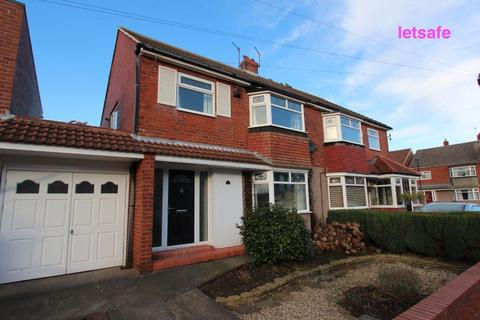 3 bedroom semi-detached house to rent - Burnt House Road, Whitley Bay