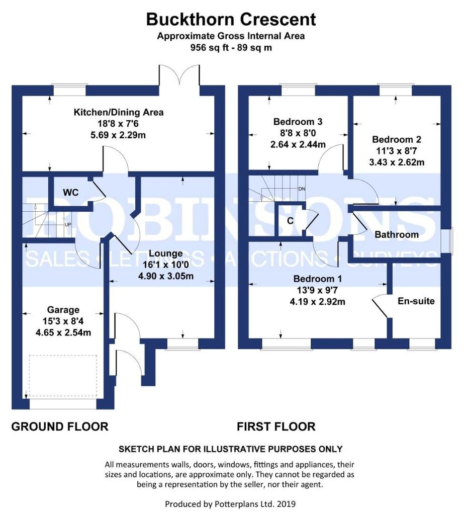 Floorplan: Buckthorn Crescent