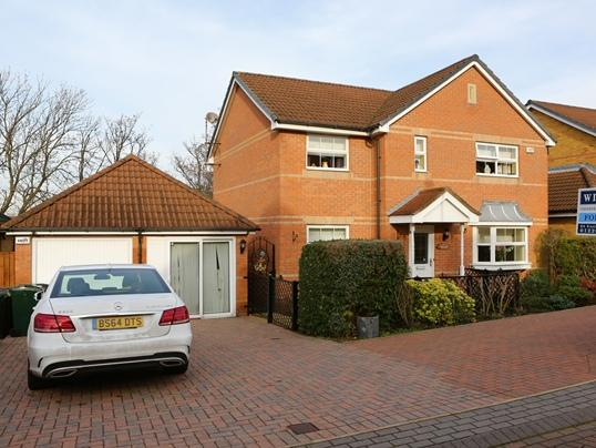 4 Bedrooms Detached House for sale in 6 Alford Close, Redbrook, Barnsley, S75 2SB