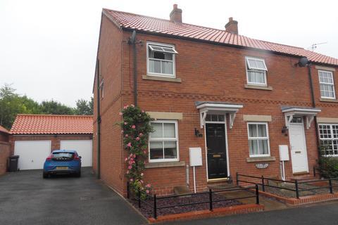 2 bedroom semi-detached house to rent - Ings View, Tollerton, York, YO61 1PR