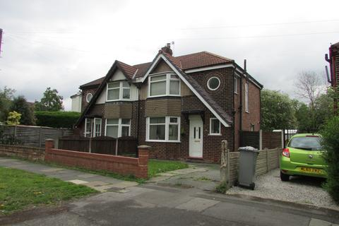 3 bedroom semi-detached house to rent - Lansdowne Road North, Urmston, Manchester M41 6QG