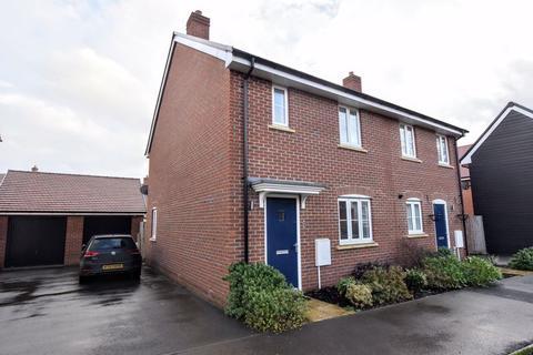 3 bedroom semi-detached house for sale - Laputa Way, Bletchley, Milton Keynes