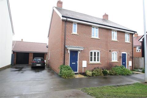 3 bedroom semi-detached house for sale - Laputa Way, Newton Leys, Milton Keynes